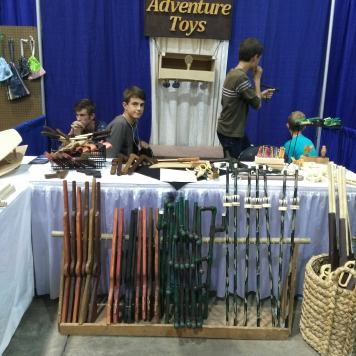Boys Adventure Toys, cool wooden weapons